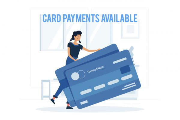 Pay with your card now