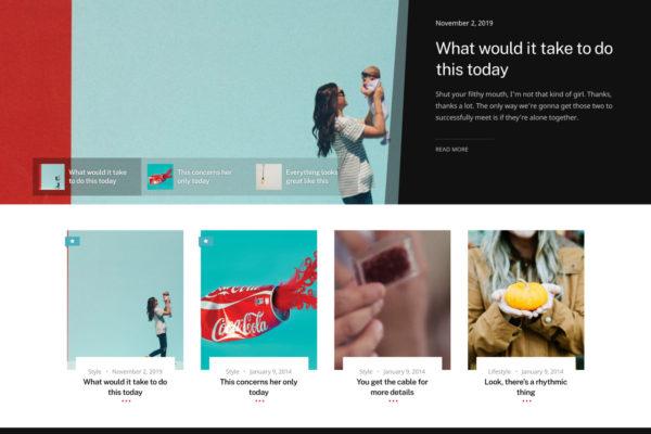 New release- Pino WordPress Theme